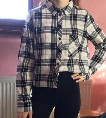 Fekete-fehér kockás ing 34