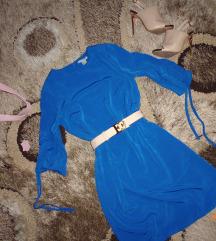 Gyönyörű  kobaltkék  ruha  36/S es..