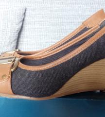 Humanic-os farmer/ barna cipő