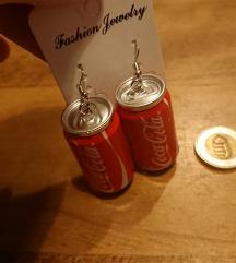 Coca cola fülbevaló /posta az árban/