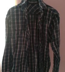 Kék-fehér kockás ing