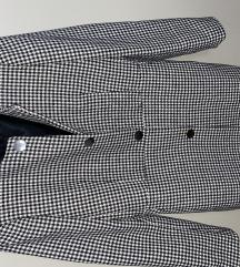 Zara  kockás blézer kabát M