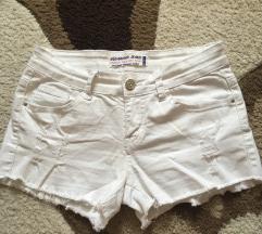 Fehér short