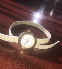 K&Bros duplaszíjas arany bézs női óra