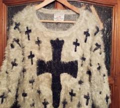 Divatos női pulóver (one size)