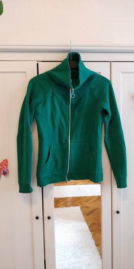 Fishbone zöld pulcsi