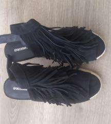 Graceland rojtos magasított talpú cipő