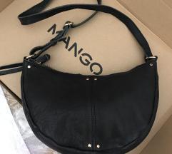 Új Mango bőr táska