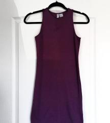 H&M bordó ruha
