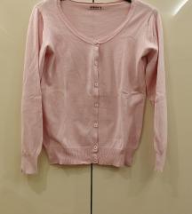 Rózsaszínű Terranova kardigán