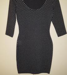 Új Zara fekete fehér ruha