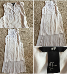 Fehér midi ruha