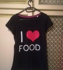 Szeretek enni - fekete póló