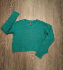 Puha rövidített pulcsi S - méretben