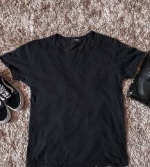 Szaggatott pull&bear póló + cipő