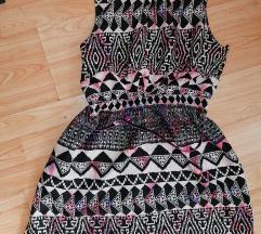 Azték mintás színes ruha