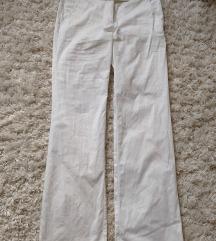 Bőszárú fehér nadrág