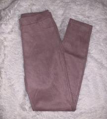 Púderrózsaszín leggings - S/M