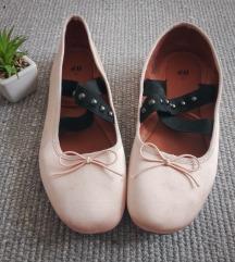 h&m pántos szatén balerina
