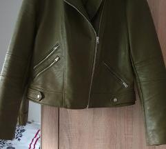 Zara olajzöld kabát