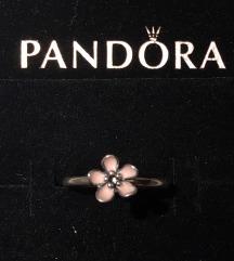 Pandora tűzzománc, ezüst gyűrű 48