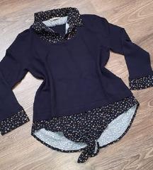 Orsay pulóver, duplahatású felső