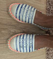 Új vászon kényelmes cipő loafer espadrilles