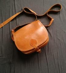 Barna bőr táska