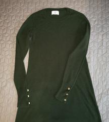 C&A zöld vastag ruha
