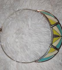 Sárga-kék nyaklánc