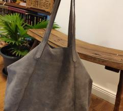 Mango velúrbőr táska