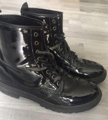 Tally Weijl fekete fűzős bakancs cipő
