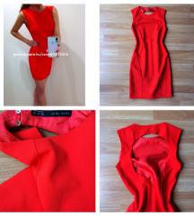 Zara piros ruha