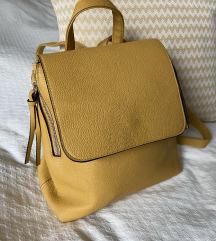 Stradivarius sárga hátizsák - FOGLALT