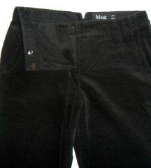 38, M - Mango fekete mikrokord hosszúnadrág