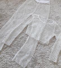 Fehér lyukacsos strandszett, beach set