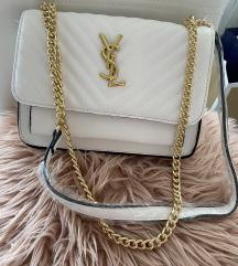 Új YSL 2 fakkos fehér színű női táska crossbody