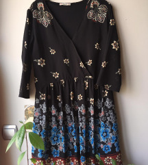 Virágos vintage ruha