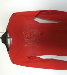 Hosszú ujjú piros póló