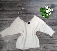 Fehér pulóver S-M