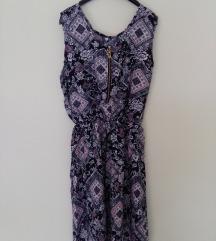 Cipzáras, mintás nyári ruha
