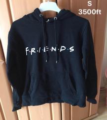 ÚJ jóbarátok/friends S-es pulóver