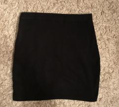 Fekete simulós szoknya