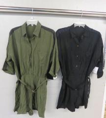 Zara overál ruha  (FEKETE)