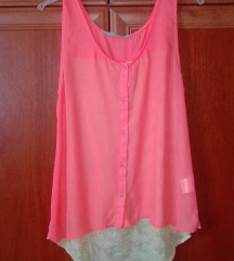 Neonnarancs oversize top