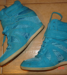 deichmann Graceland tűrkíz cipő,38,újszerű