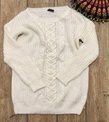 🌙 Hosszított kötött pulcsi