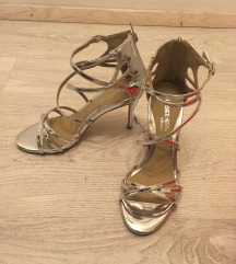ezüst silver cipő 37