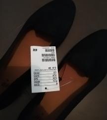 Vadonatúj H&m fekete cipő, loafer