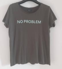 No problem, no boyfriend L-es felső